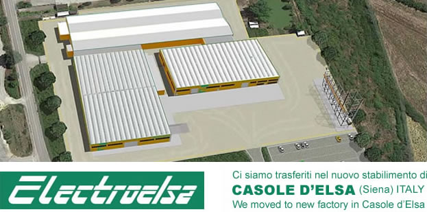Electroelsa NEWS 2016 New Factory in Casole d'Elsa