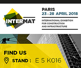 INTERMAT Paris 23-28 april 2018 - Salon International de la construction et des infrastructures