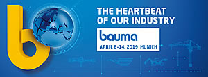 BAUMA Munich april 8-14, 2019